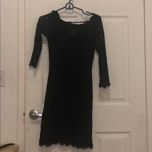 Black lace dress. Worn several times. Almost new